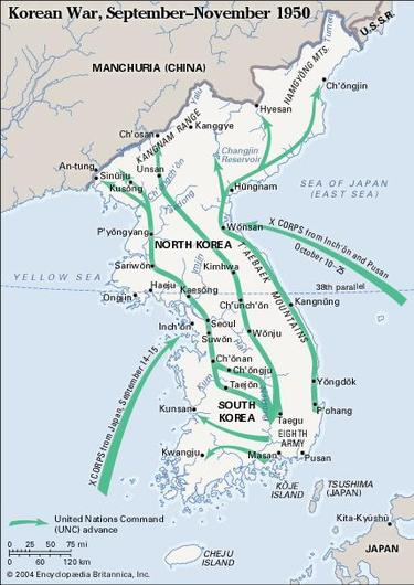 intervention of us in the korean American involvement in wars from colonial times to the present  korean war: united states (as part of the united nations) and south korea vs north korea and.